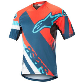Alpinestars Racer Bike Jersey Shortsleeve Men orange/blue